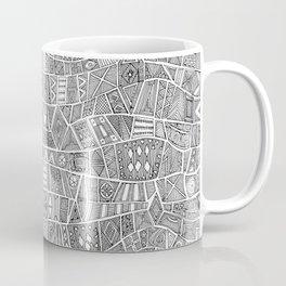 ESHE black white Coffee Mug