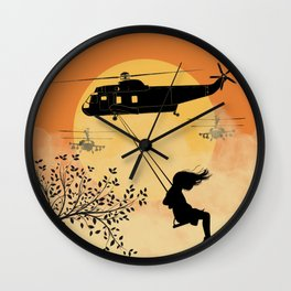 Nothing has changed Wall Clock