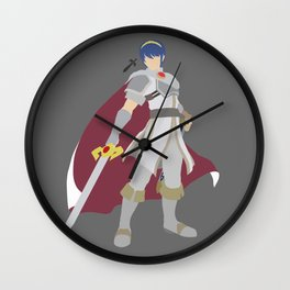 Marth(Smash)White Wall Clock