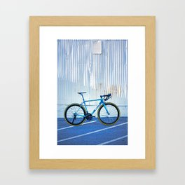 Ritte Ace Tricolor Blue Framed Art Print