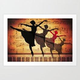 Life is music Art Print