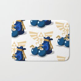 The Legend of Zelda Bomb Bag Bath Mat