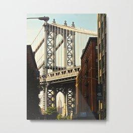 Manhattan Bridge view 3 Metal Print
