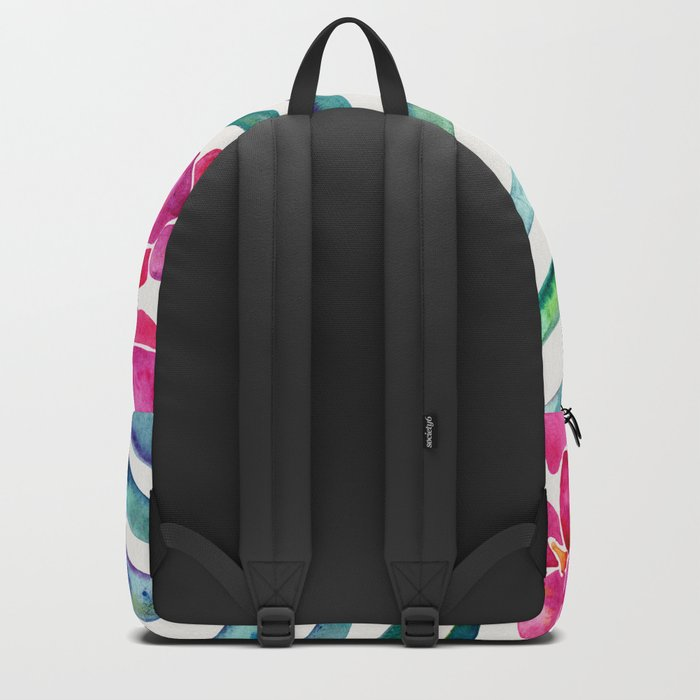 Blooming Orchid – Fuchsia & Indigo Palette Backpack