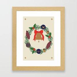 HAPPY CHRISTMAS. I Framed Art Print