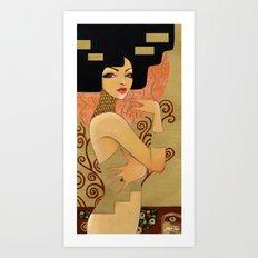 Klimt's Emilie Art Print