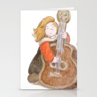 sisters Stationery Cards featuring Sisters by Pepijn de Jonge
