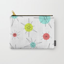 Atomic Age Colorful Planets Carry-All Pouch