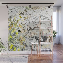 Forest Spring, Abstract Leaves & Greenery Wall Mural
