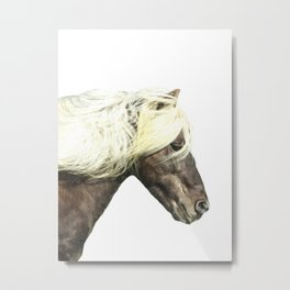 Horse Profile Metal Print