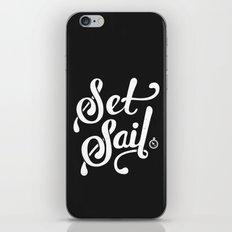 Set Sail iPhone Skin