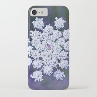 snowflake iPhone & iPod Cases featuring Snowflake by The Last Sparrow