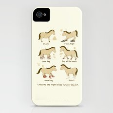 Horse Shoes iPhone (4, 4s) Slim Case