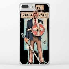 Conquest of the Meek Clear iPhone Case