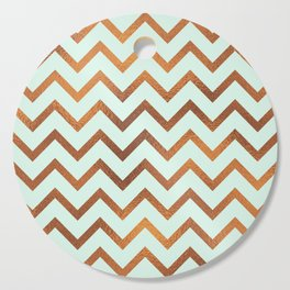 Mint With Blush Rose Gold Cutting Board