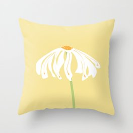 Singola flower Throw Pillow