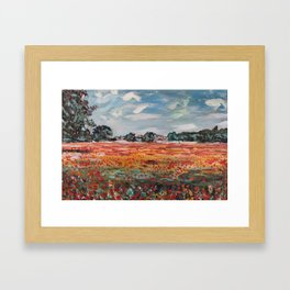 Great day to be out! Framed Art Print