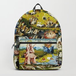 Bosch Garden Of Earthly Delights 3 Panel Backpack
