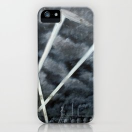 The Zeppelin Menace iPhone Case