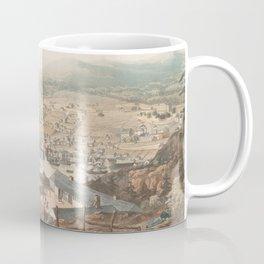 Vintage Pictorial Map of St Johns Newfoundland (1831) Coffee Mug