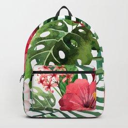 FLOWERS WATERCOLOR 8 Backpack