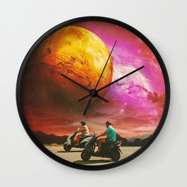 Riders Wall Clock