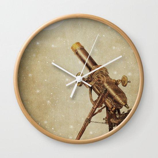 Moonrise (sepia option) Wall Clock
