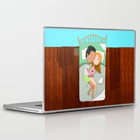 sleep Laptop & iPad Skins featuring SLEEP by Andrea Lacuesta Art