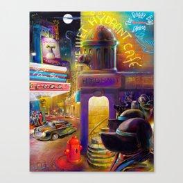 Dogville Canvas Print