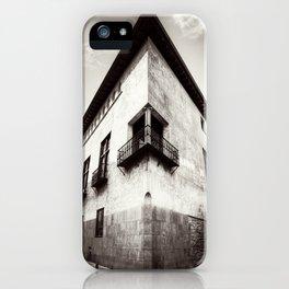 The oblique building iPhone Case