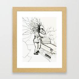 Becca Framed Art Print