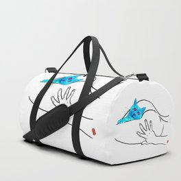 cat nude Duffle Bag