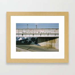 Southern Pacific Framed Art Print