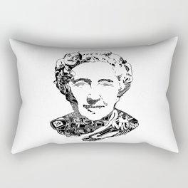 Agatha Christie Rectangular Pillow