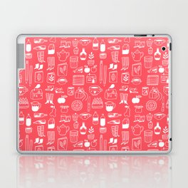 Pattern Project #8 / Things (red) Laptop & iPad Skin