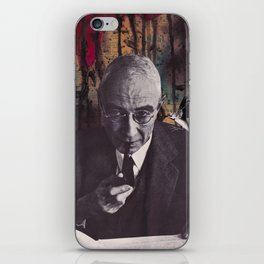 The Philosophy of Composition iPhone Skin