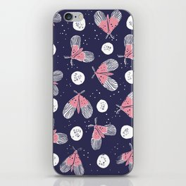 Night Moth iPhone Skin