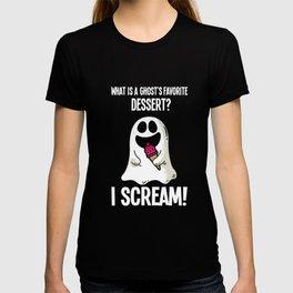 Halloween spirit pun funny costume gift T-shirt