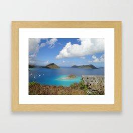 Water Lemon Cay, St. John, Virgin Islands Framed Art Print