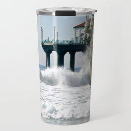 Manhattan Beach Pier Travel Mug