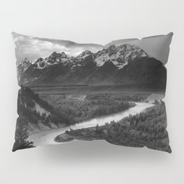 Ansel Adams - The Tetons and Snake River Pillow Sham