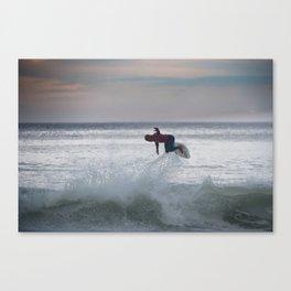 Legend & Pro Surfer Kelly Slater Canvas Print