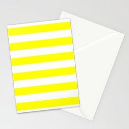 Mariniere marinière yellow Stationery Cards