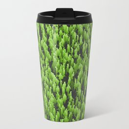 Like Blades of Grass / Large crowd of people illustration Travel Mug