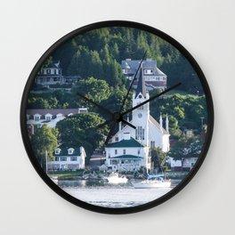 Safe Harbor Wall Clock