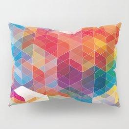 Cuben Curved #5 Pillow Sham