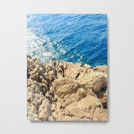 Textures Of Nature Metal Print