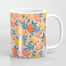 Citrus Orange & Lemon Coffee Mug