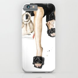 Style, book and femininity iPhone Case