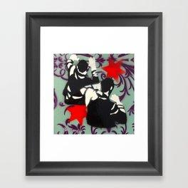 Brawl No.1 Framed Art Print